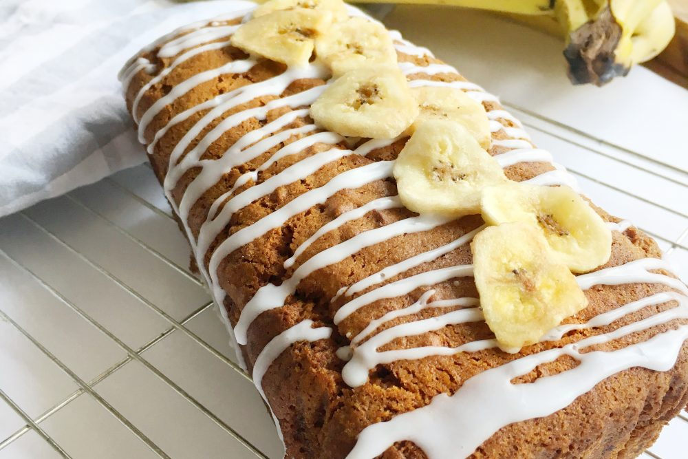 Bring on the Vegan Banana Bread – So Easy!