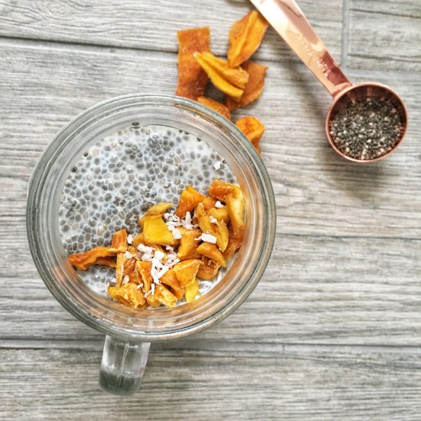 Cheers for Chia: Coconut and Mango Chia Pudding