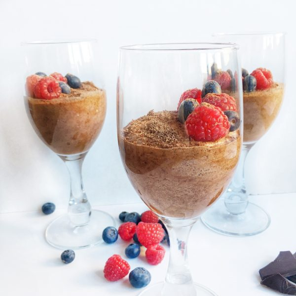 Four-Ingredient Vegan Chocolate Mousse